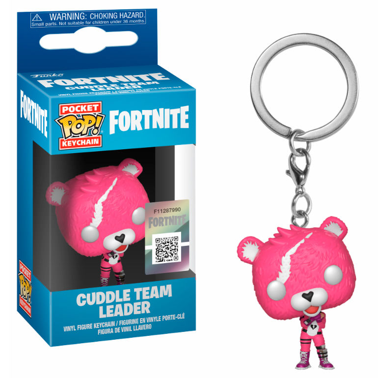 Llavero Cuddle Team Leader