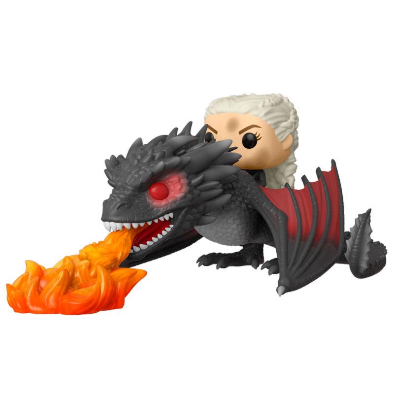 Daenerys sobre Drogon