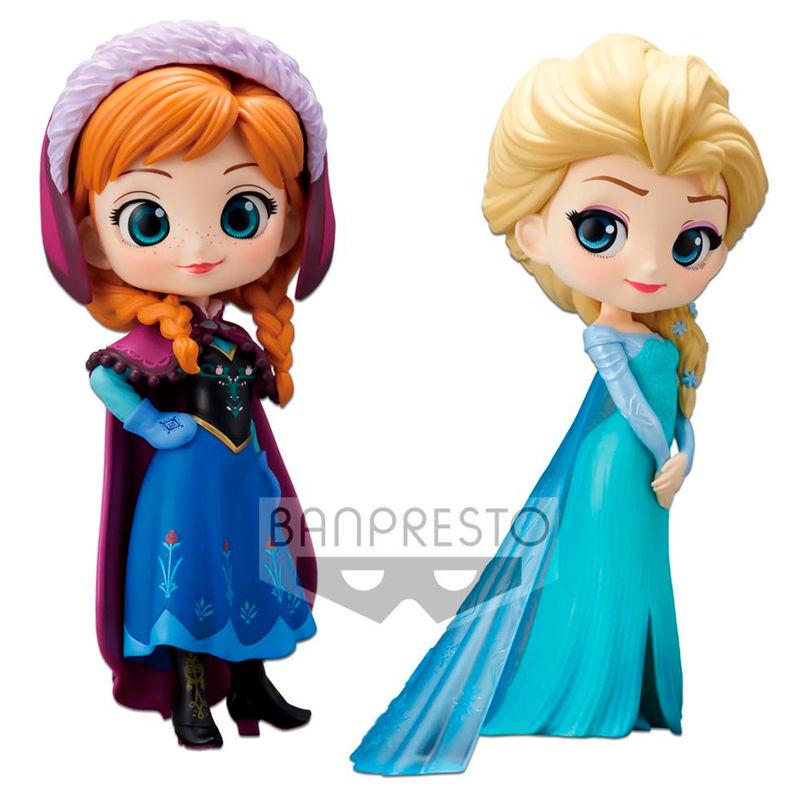 Elsa y Anna 14cm