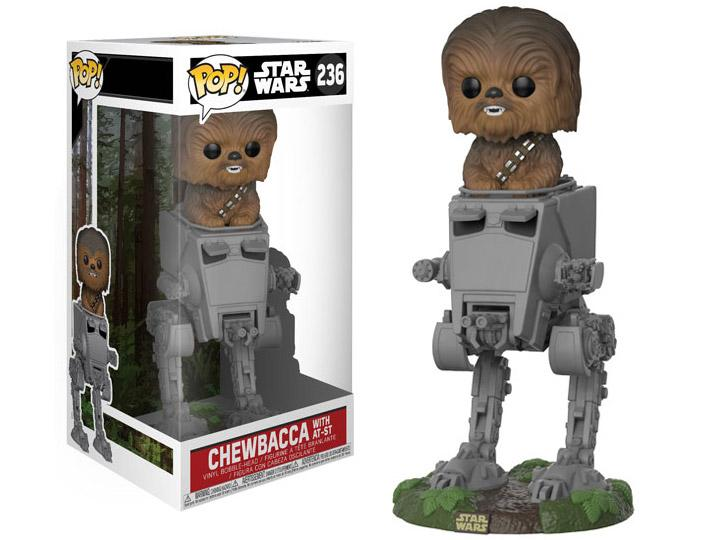 Chewbacca sobre AT-ST