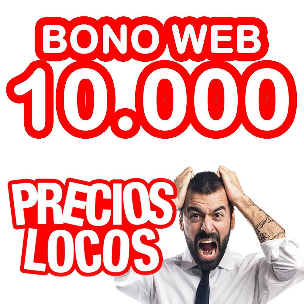 BONO WEB 10.000 0.018€/copia