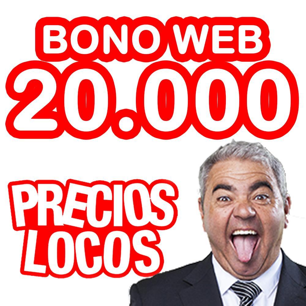 BONO WEB 20.000 0.017€/copia
