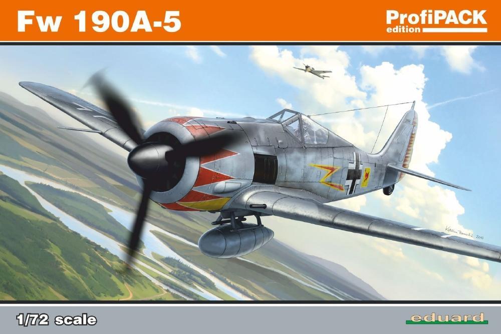 EDUARD 70116 Focke-Wulf Fw 190A-5 (Profipack)
