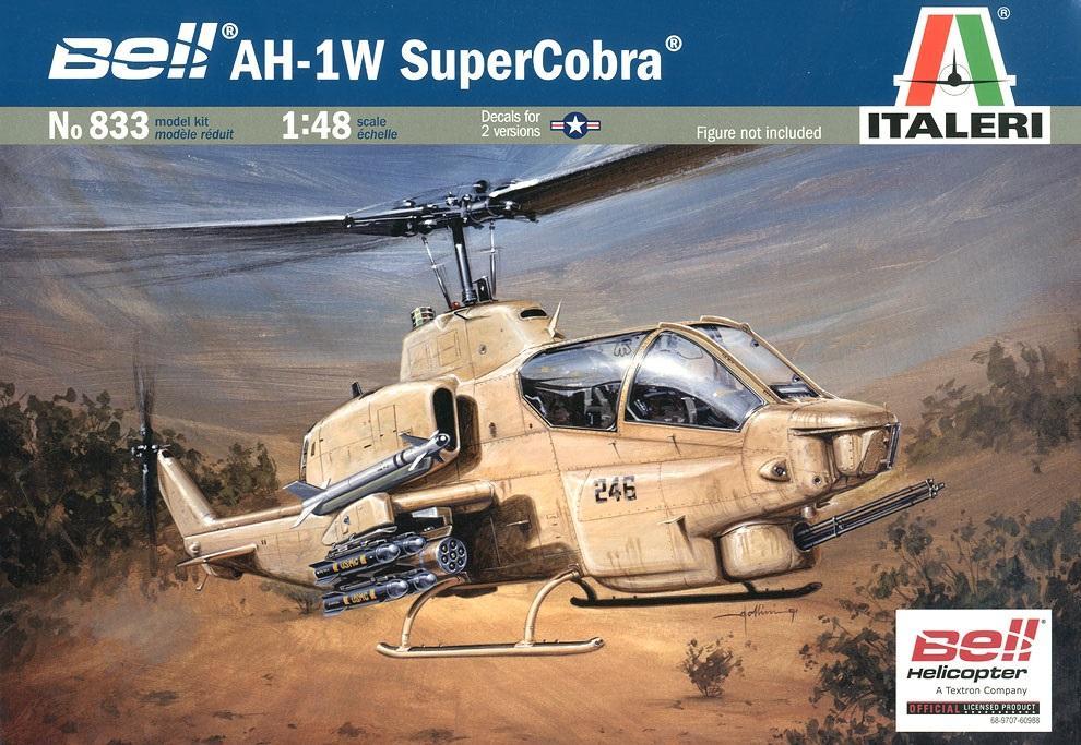 ITALERI 0833 Bell AH-1W 'Super Cobra'