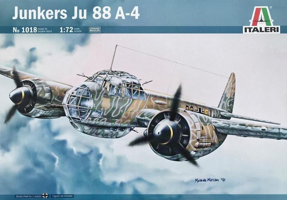 ITALERI 1018 Junkers Ju 88A-4 (WWII)