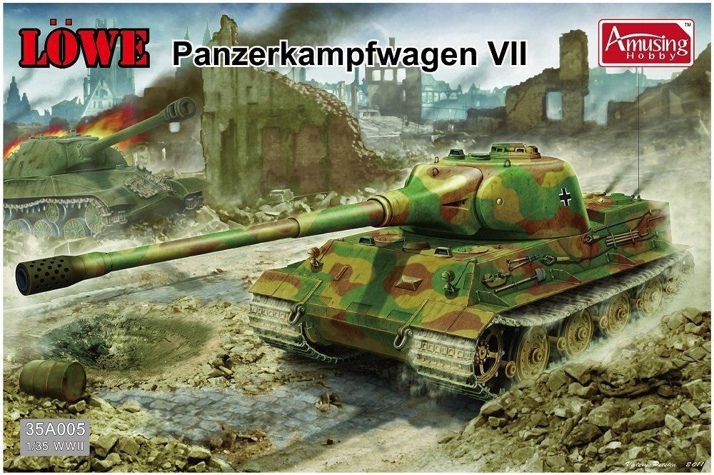 AMUSING HOBBY 35A005 Löwe Panzerkampfwagen VII
