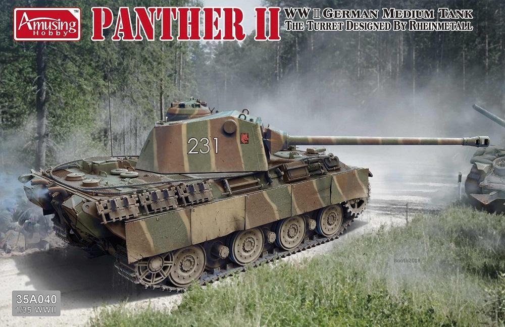 AMUSING HOBBY 35A040 German Medium Tank 'Panther II'