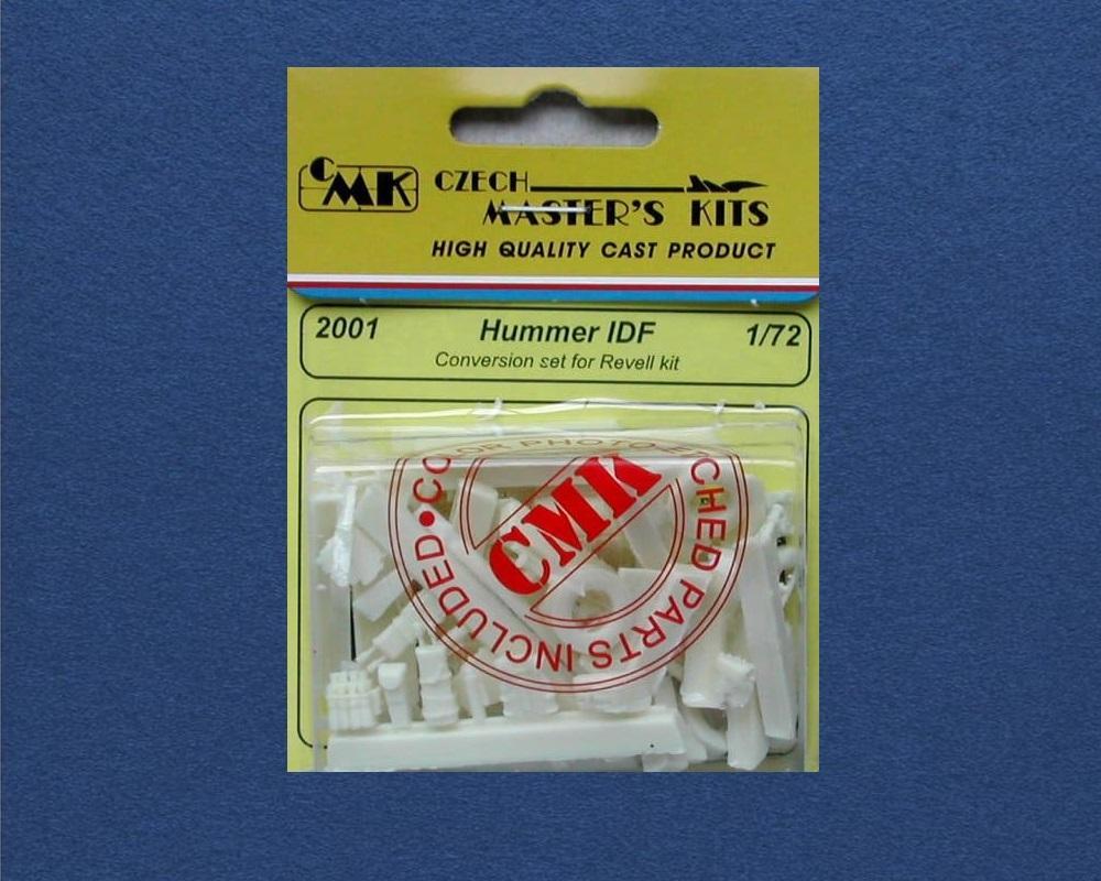 CMK 2001 Conversion Set for Hummer I.D.F. (Revell)