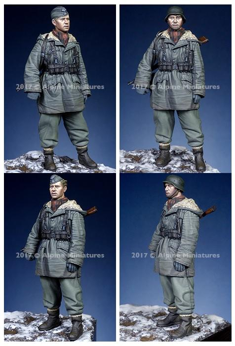 ALPINE MINIATURES 35236 WSS Grenadier at Kharkov