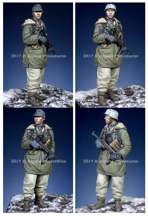 ALPINE MINIATURES 35235 WSS NCO at Kharkov