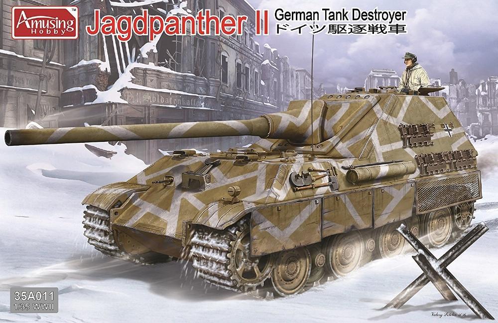 AMUSING HOBBY 35A011 German Tank Destroyer Jagdpanther II