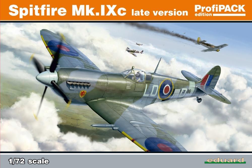 EDUARD 70121 Supermarine Spitfire Mk.IXc 'Late Version' (Profipack)