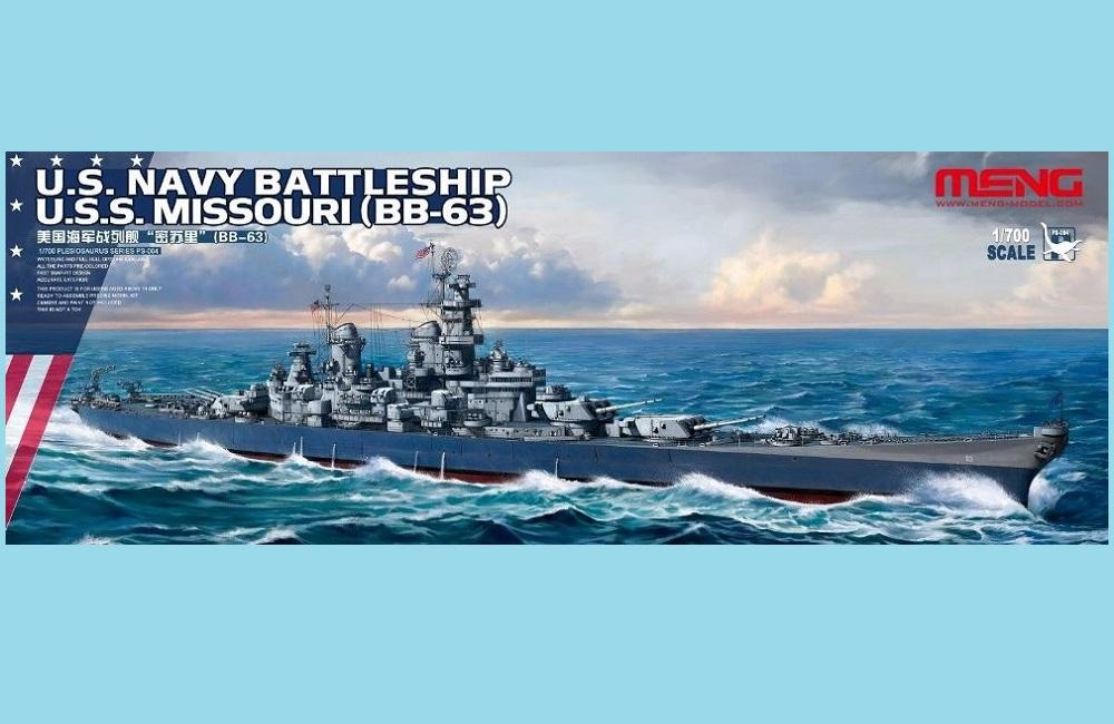 MENG MODEL PS004 U.S. Navy Battleship Missouri (BB-63)