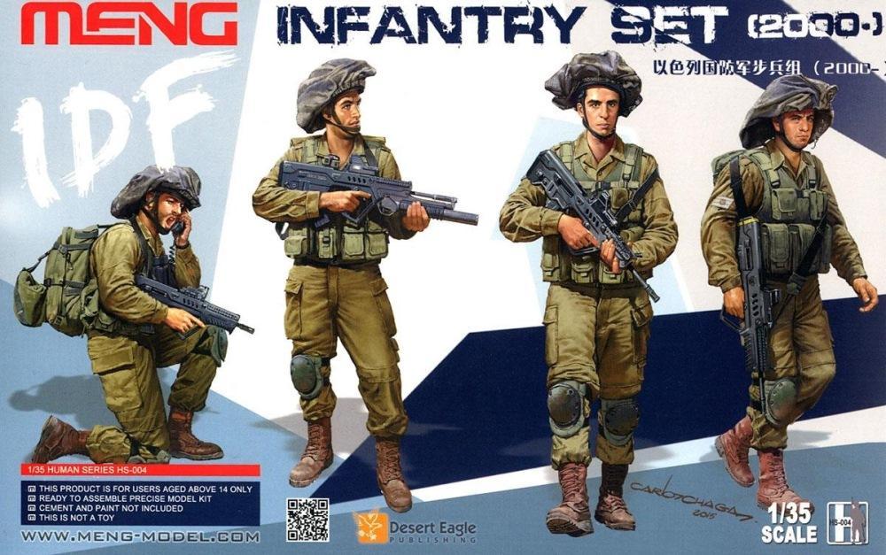 MENG MODEL HS004 I.D.F. Tank Crew