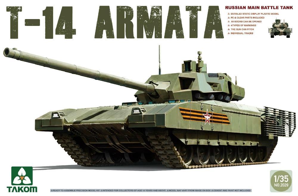 TAKOM 2029 Russian Main Battle Tank T-14 'Armata'