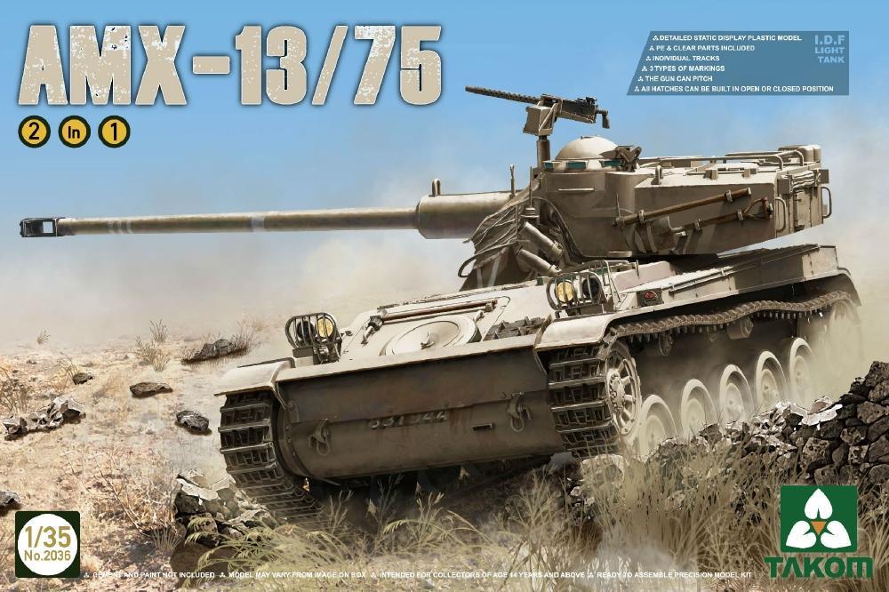 TAKOM 2036 French Light Tank AMX-13/75