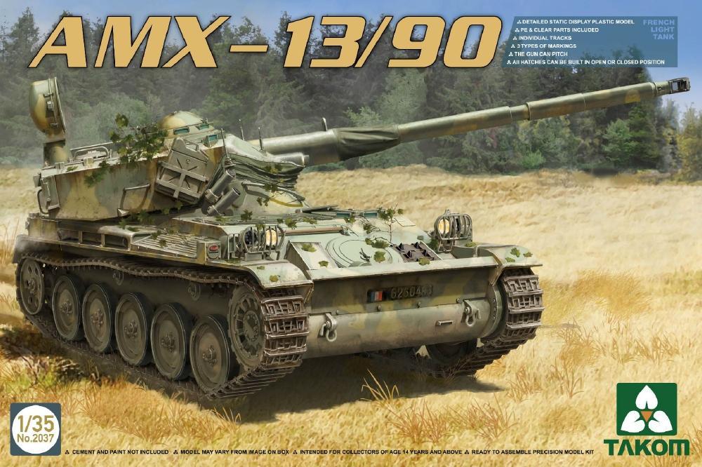 TAKOM 2037 French Light Tank AMX-13/90