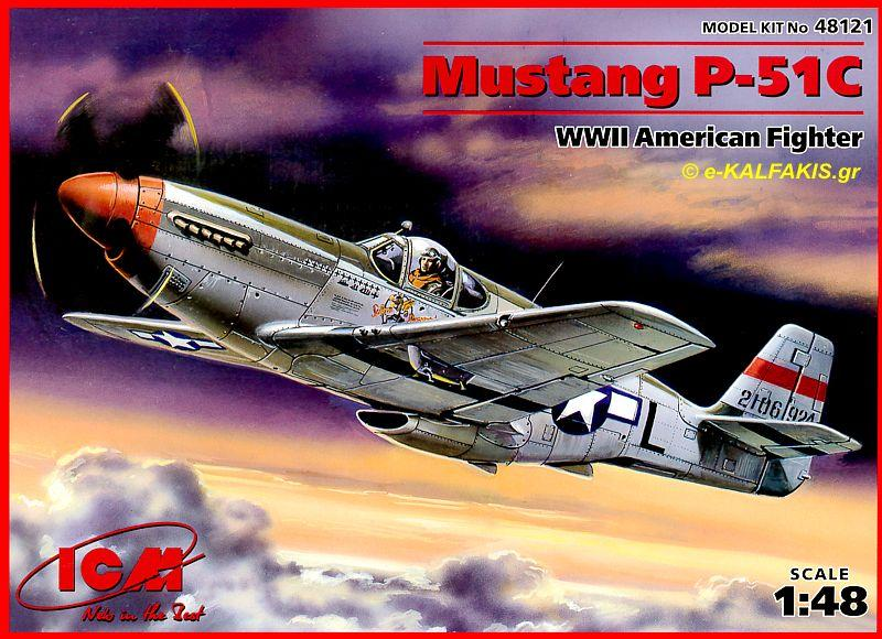 ICM 48121 North-American P-51C 'Mustang'