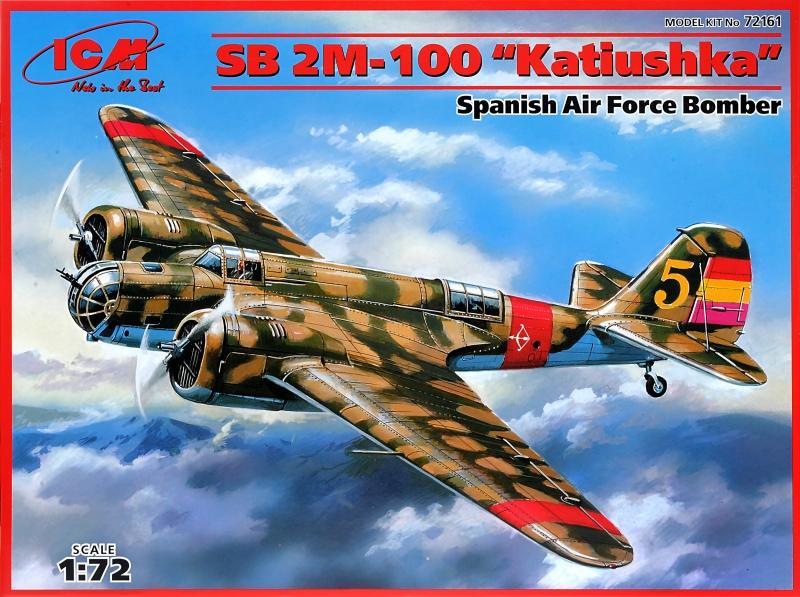 ICM 72161 Tupolev SB-2M-100 'Katiushka' (Spanish Civil War)