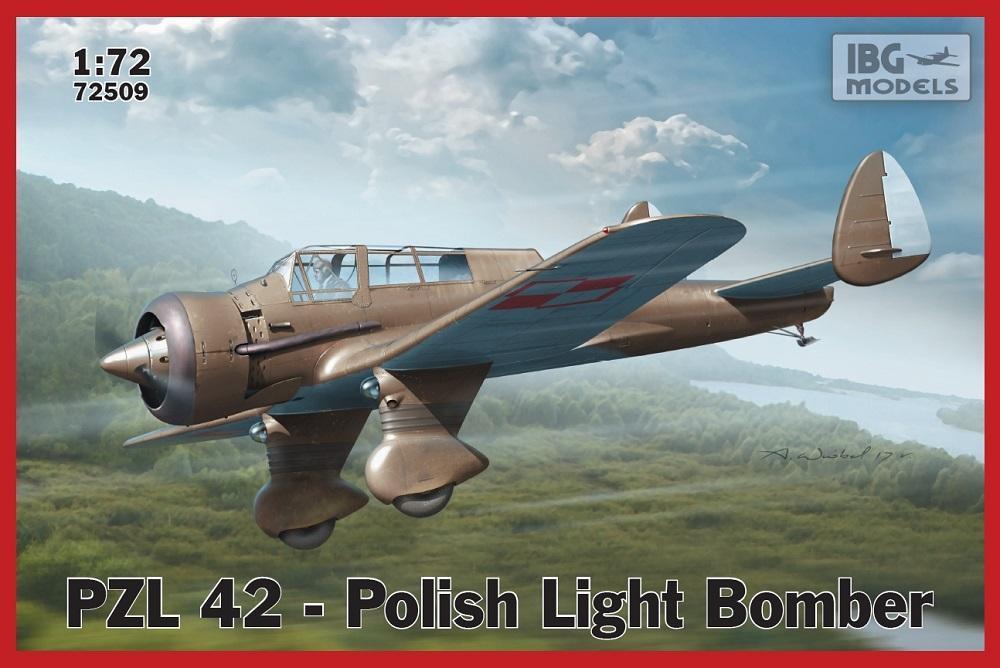 IBG MODELS 72509 PZL 42 Polish Light Bomber