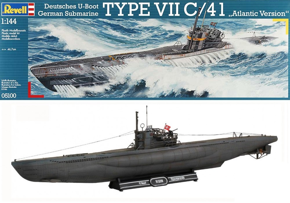 Revell U-Boot Type VII C//41-05100