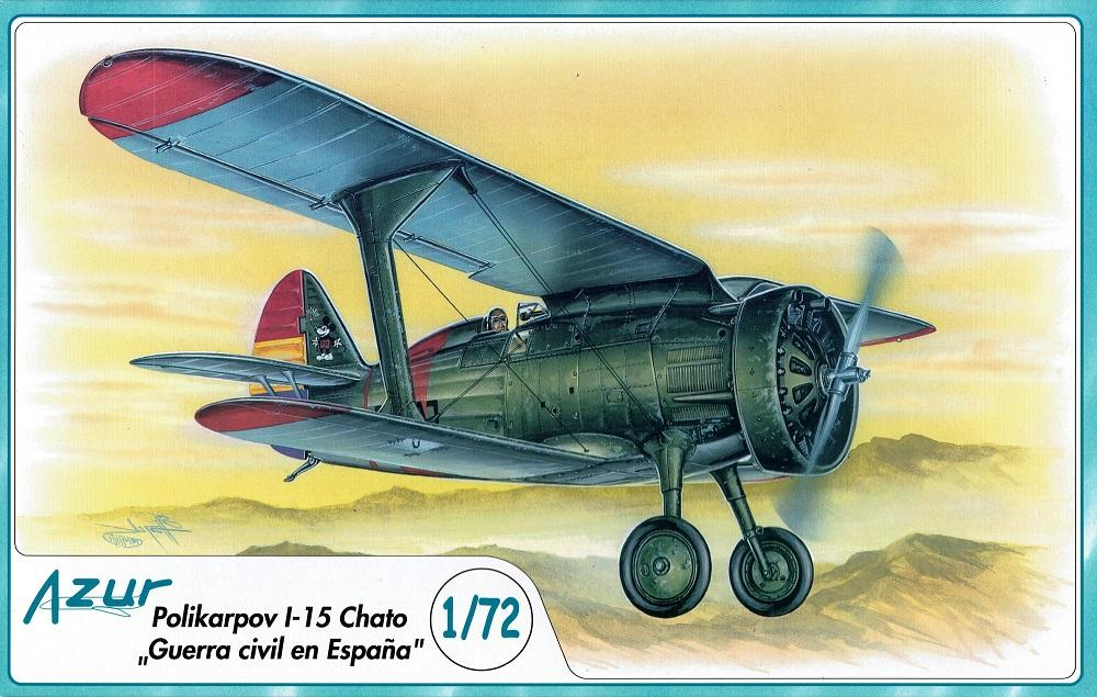 AZUR A044 Polikarpov I-15 'Chato'