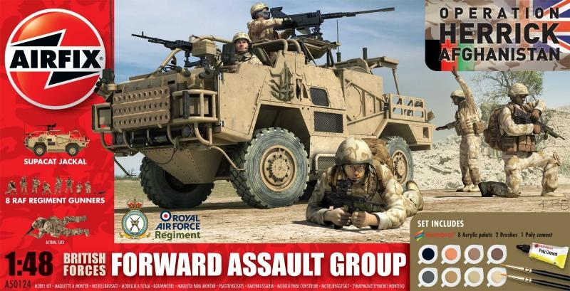 AIRFIX 50124 British Forces Forward Assault Group (Gift Set)