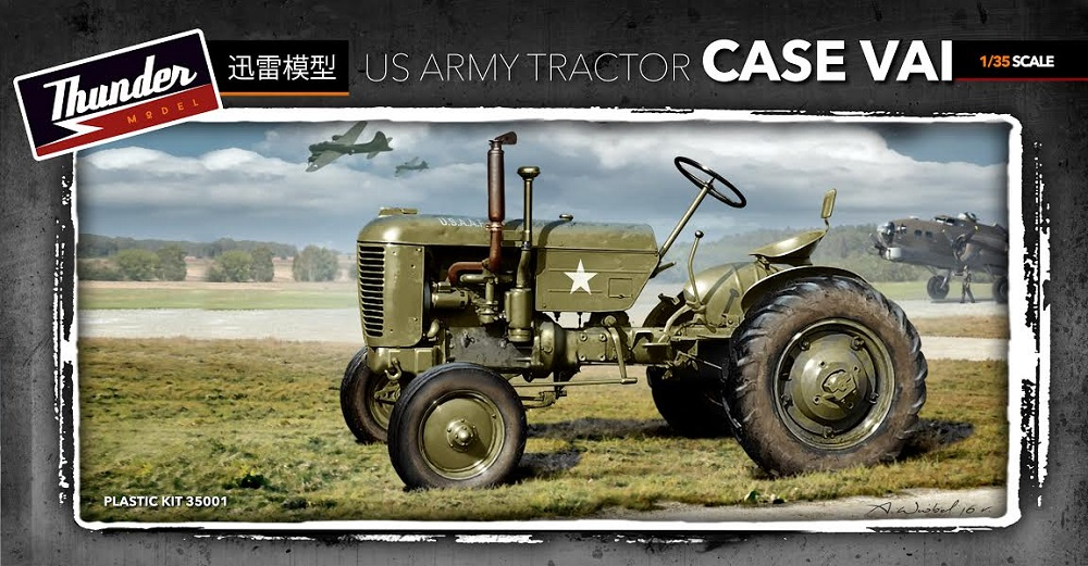 THUNDER MODEL 35001 U.S. Army Tractor Case Vai