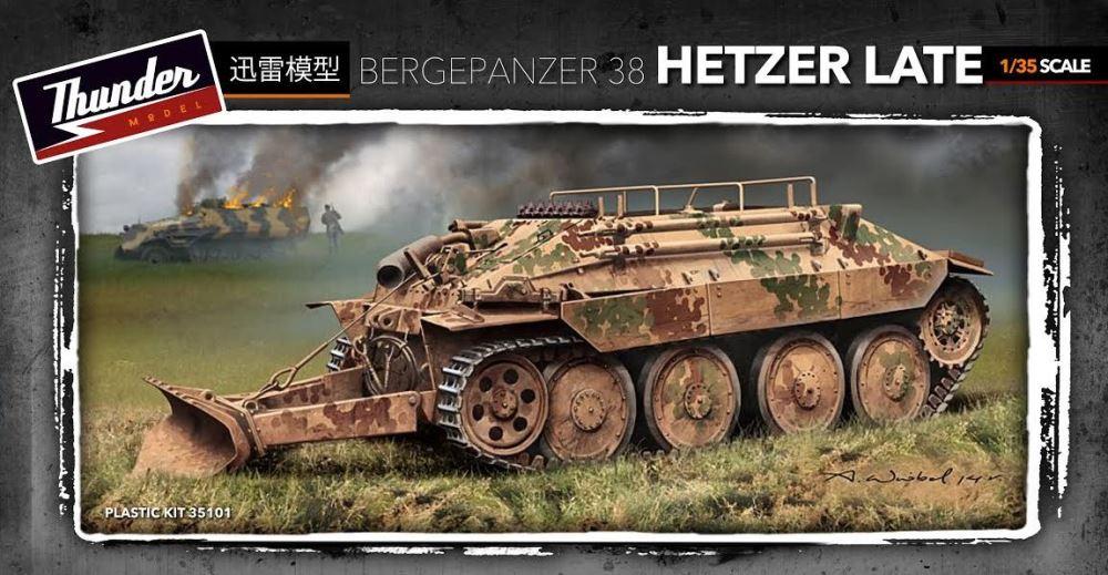 THUNDER MODEL 35101 German Bergepanzer 38 'Hetzer' (Late)