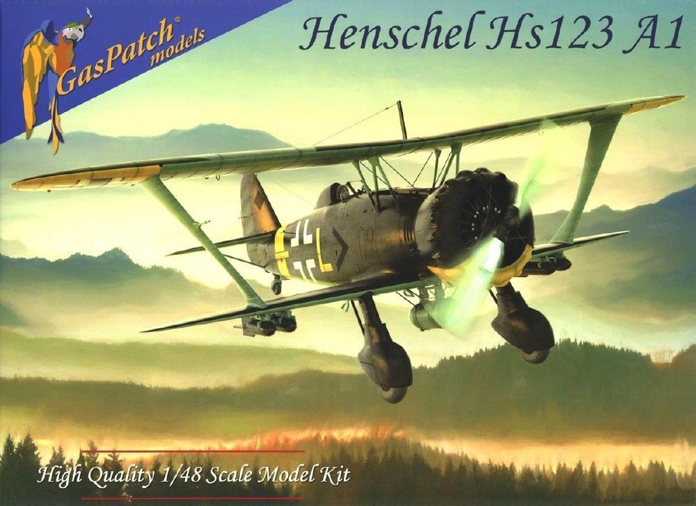 GASPATCH MODELS 48095 Henschel Hs 123A-1