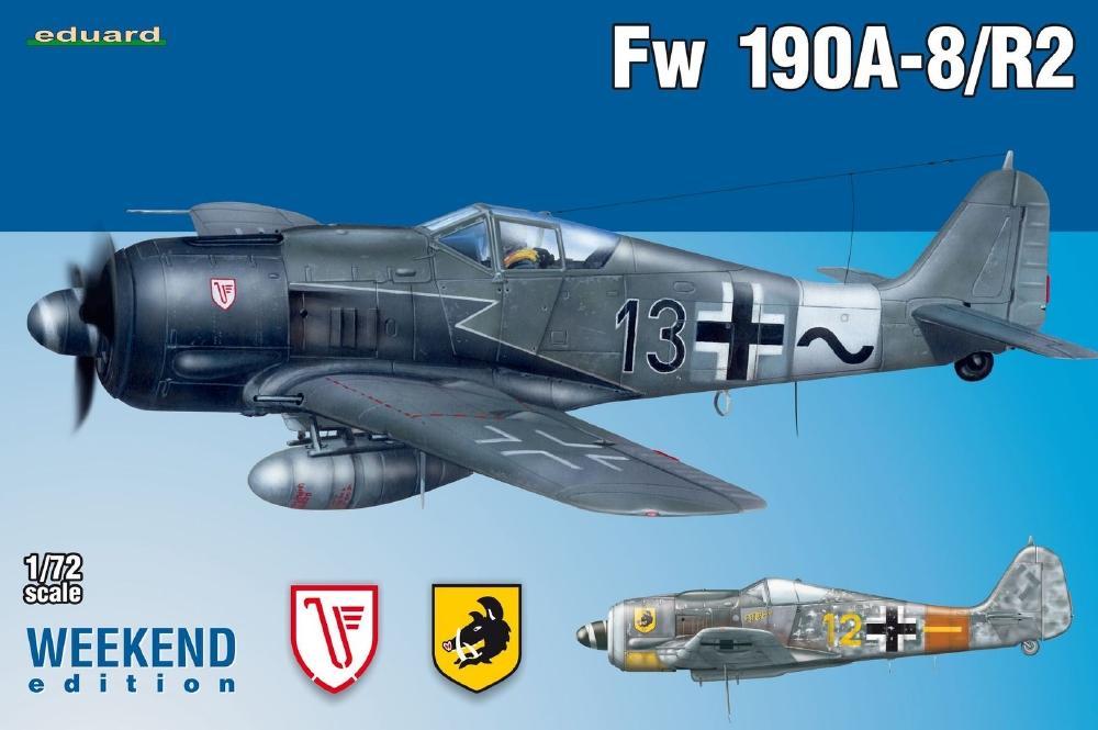 EDUARD 7430 Focke-Wulf Fw 190A-8/R2 (Weekend Edition)