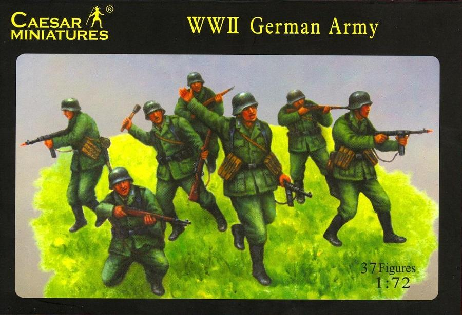 CAESAR MINIATURES H037 German Army (WWII)