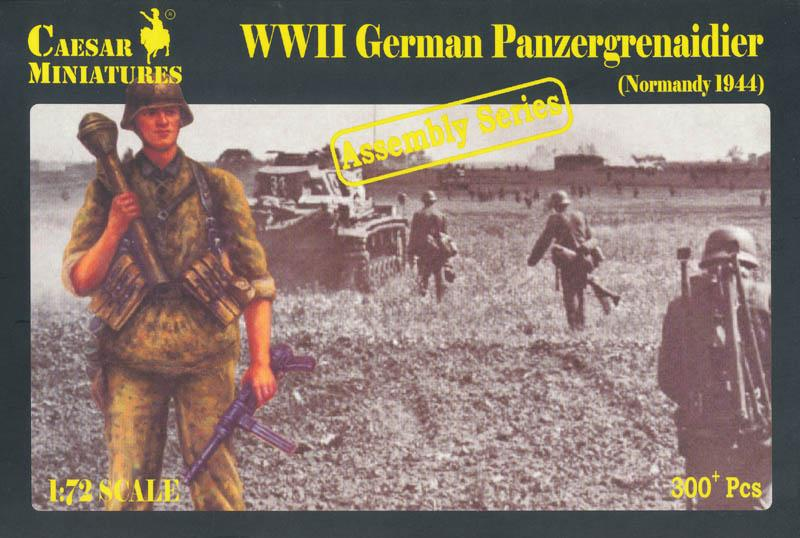 CAESAR MINIATURES 7716 German Panzergrenadier (Normandy, 1944)