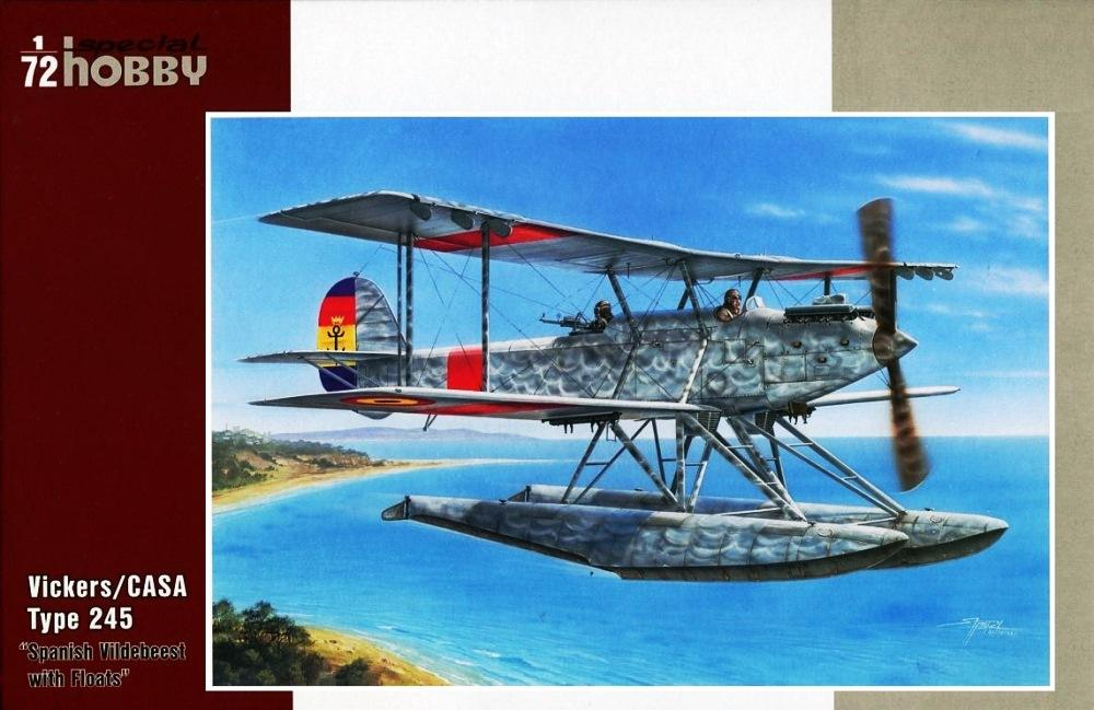SPECIAL HOBBY 72241 Vickers/CASA Type 245 'Spanish Vildebeest with Floats'