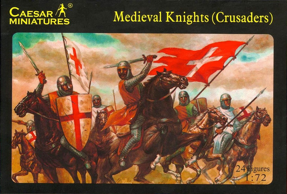 CAESAR MINIATURES H017 Medieval Knights (Crusaders)