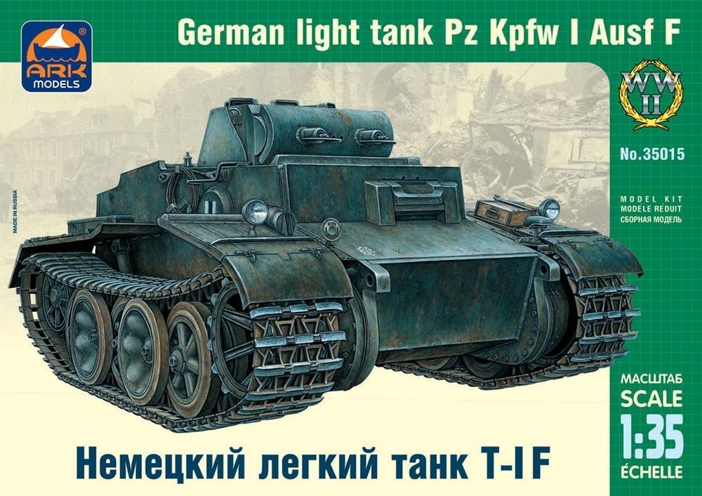 ARK MODELS 35015 German Light Tank Pz.Kpfw.I Ausf.F (WWII)