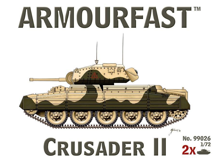 ARMOURFAST 99026 British Crusader Mk.II