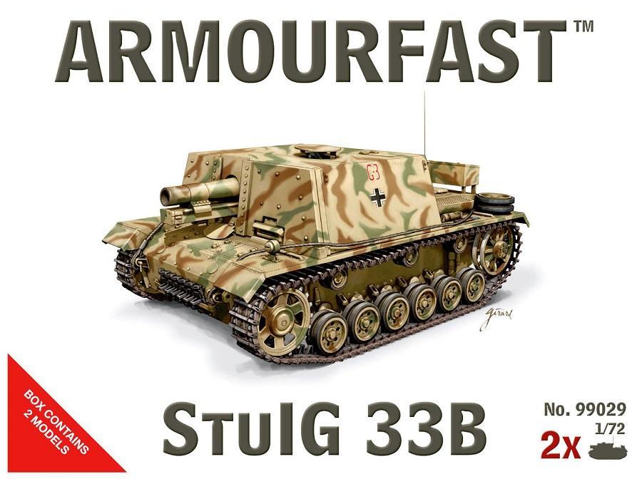ARMOURFAST 99029 German StuIG.33 Ausf.B Assault Gun