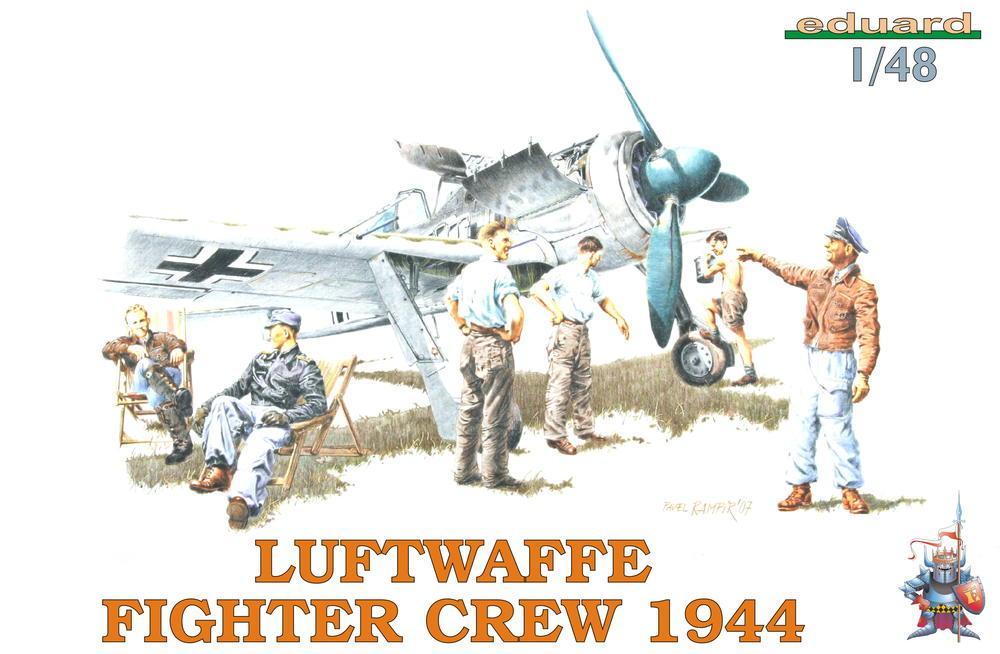 EDUARD 8512 Luftwaffe Fifghter Crew 1944