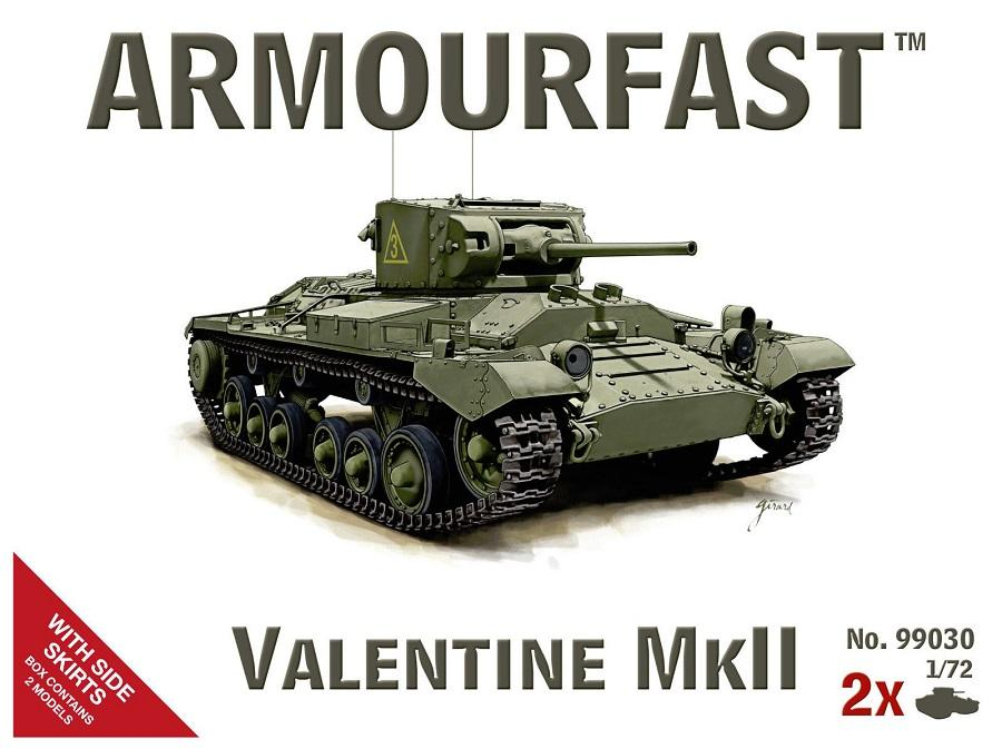 ARMOURFAST 99030 British Valentine Mk.II
