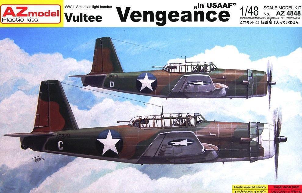 AZ MODEL 4848 Vultee Vengeance A-35 (U.S.A.A.F.)