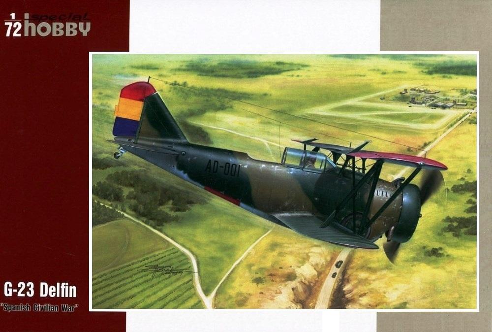 SPECIAL HOBBY 72247 Grumman G-23 'Delfin' (Spanish Civil War)