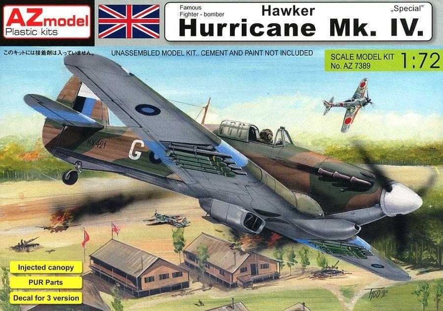 AZ MODEL 7389 Hawker Hurricane Mk.IV