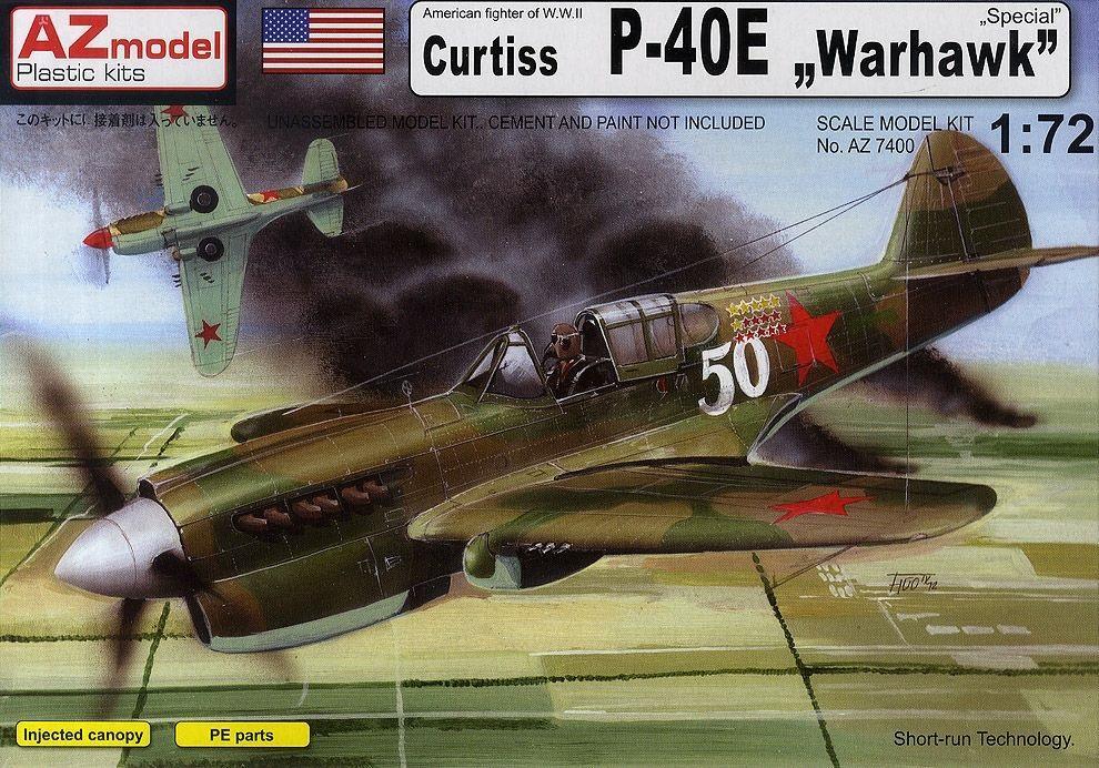 AZ MODEL 7400 Curtiss P-40E 'Warhawk'