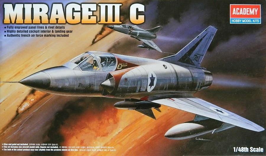 ACADEMY 12247 Dassault Mirage IIIC