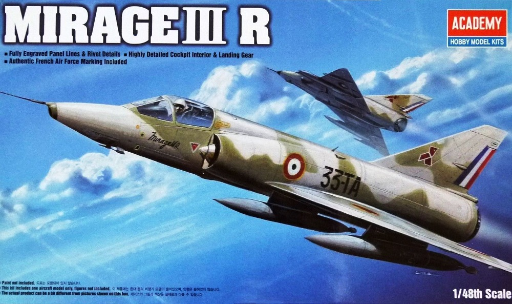 ACADEMY 12248 Dassault Mirage IIIR