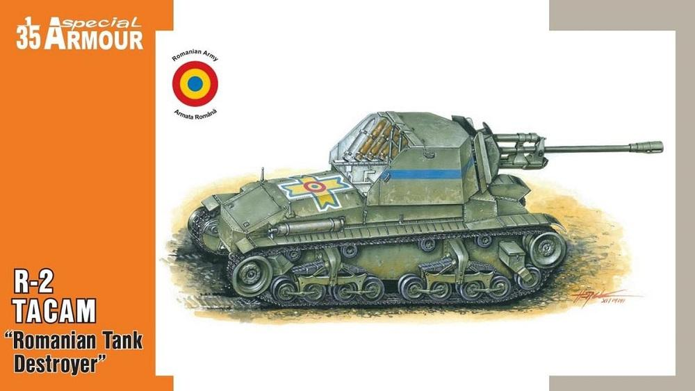 SPECIAL ARMOUR 35003 Romanian Tank Destroyer R-2 'Tacam' (WWII)