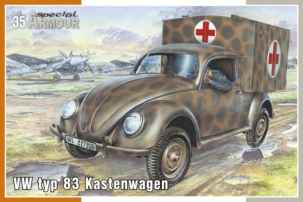 SPECIAL ARMOUR 35005 German VW Type 83 Kastenwagen (WWII)
