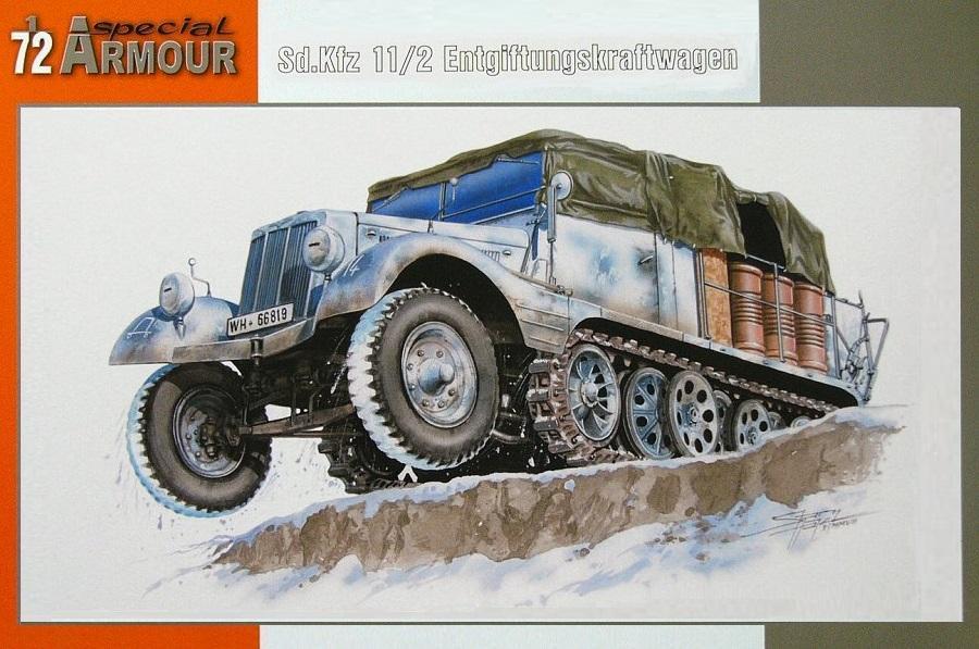 SPECIAL ARMOUR 72010 German Sd.Kfz.11/2 Entgiftungskraftwagen