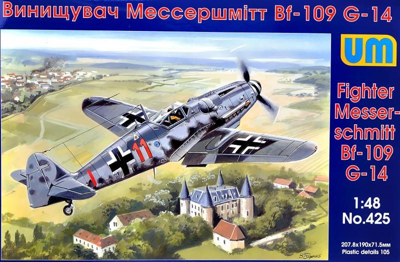 UNIMODEL 425 Messerschmitt Bf 109G-14